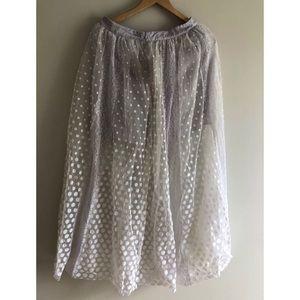 ba46701eb Free People Skirts - NWT Free People Dreaming of You Maxi Tutu Skirt